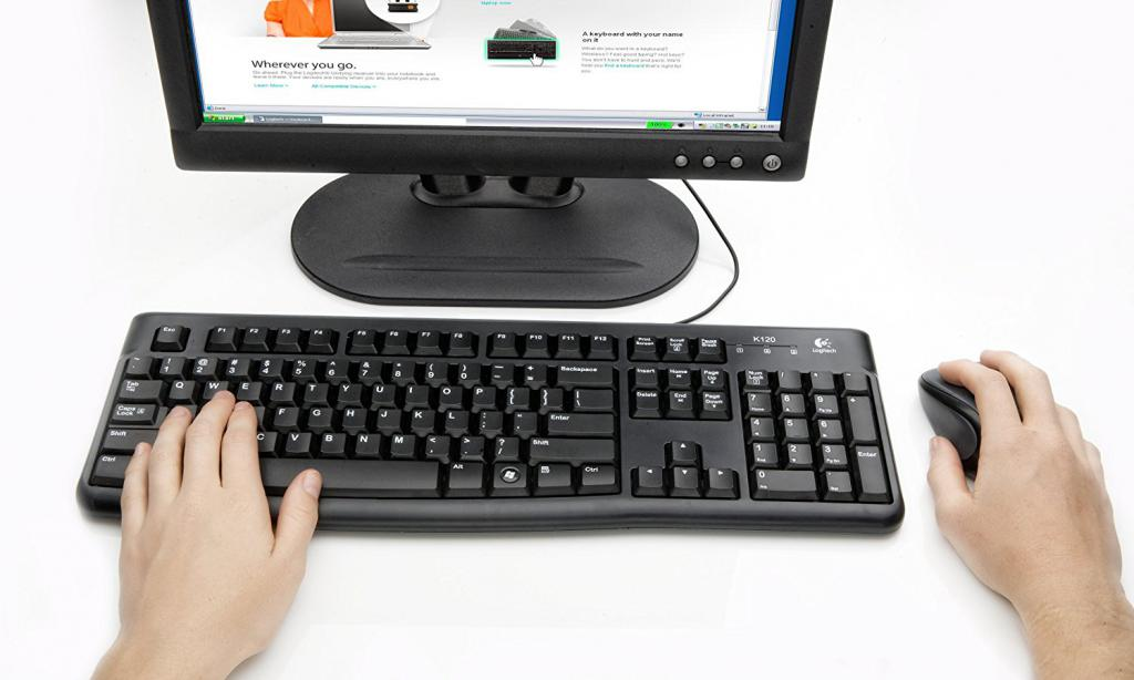 Клавиатура Logitech Клавиатура K120