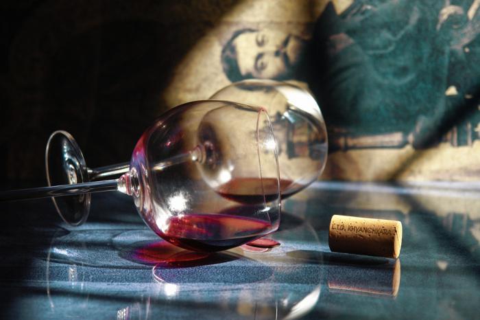 vino rosso hvanchkara