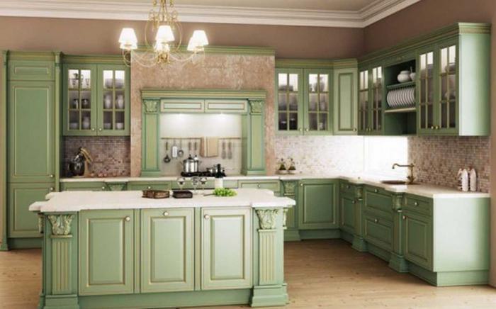 klasični dizajn kuhinje