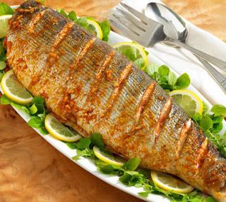 печене на риба във фурната
