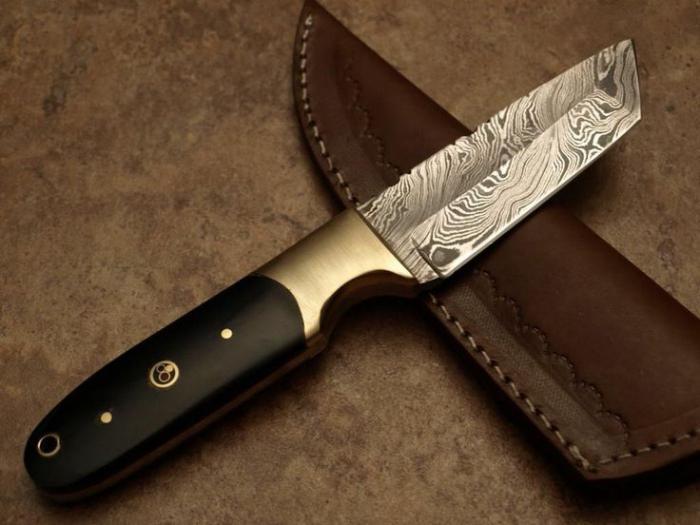Noże kuchenne ze stali damasceńskiej