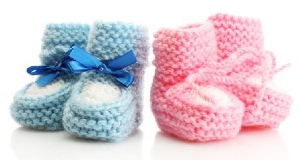 boty pro dětské pletení