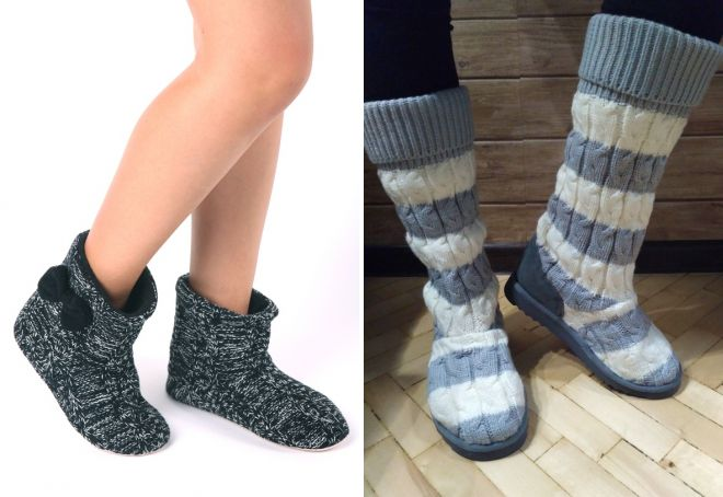 Stivali di lana