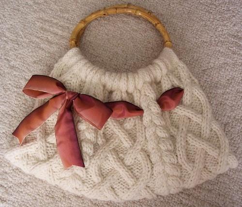 pletilne vrečke z iglami za pletenje