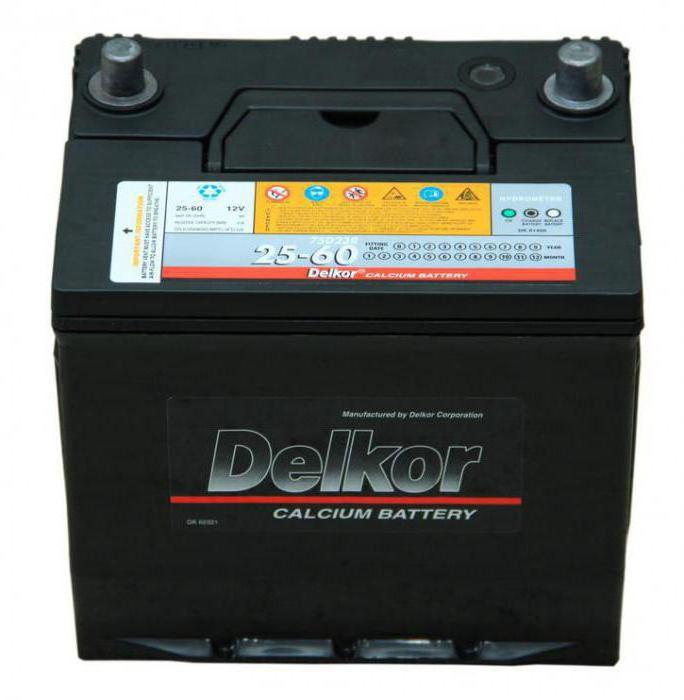 Batterie per auto coreane