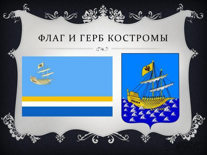 Застава и грб Кострома
