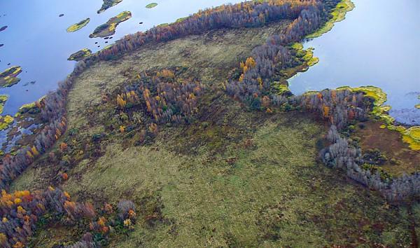 Eden od otokov v Kostromskem morju