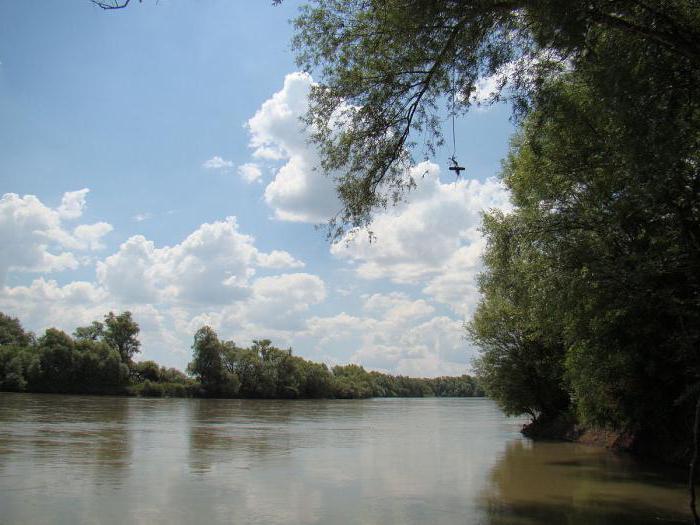 fiumi della regione di Krasnodar