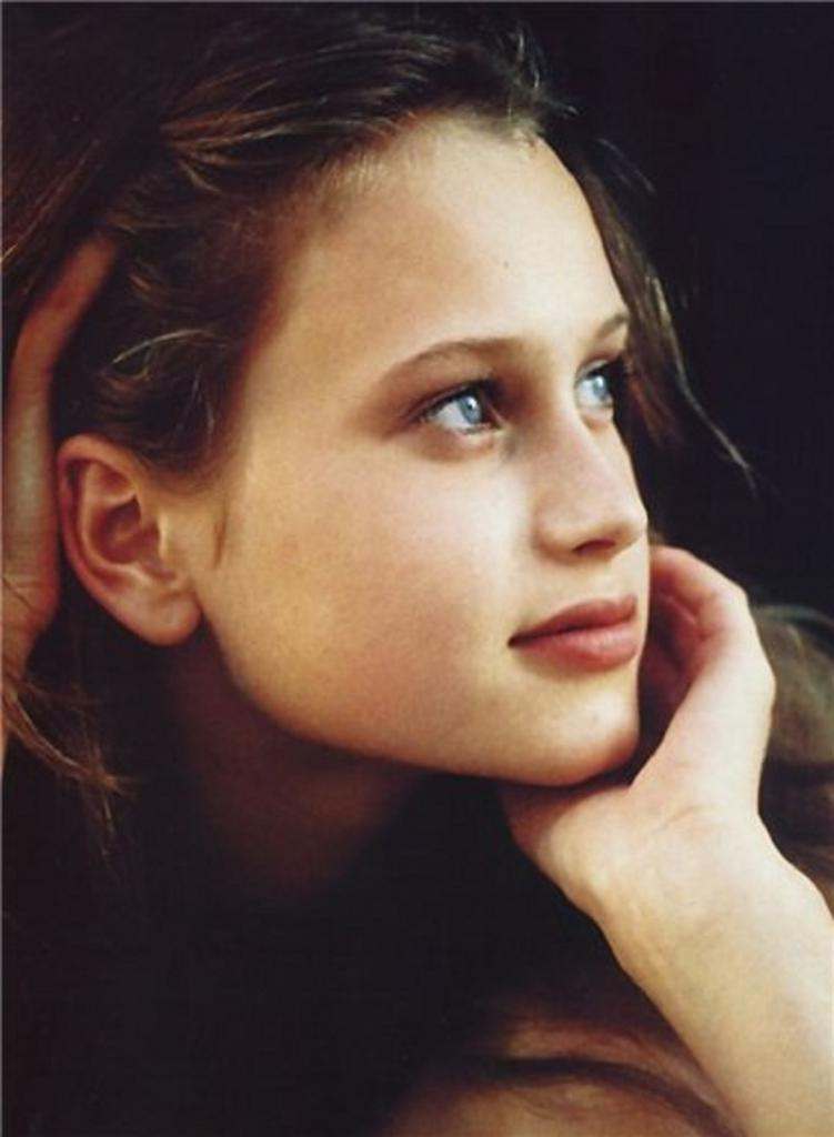 Kristina Semenovskaya in gioventù