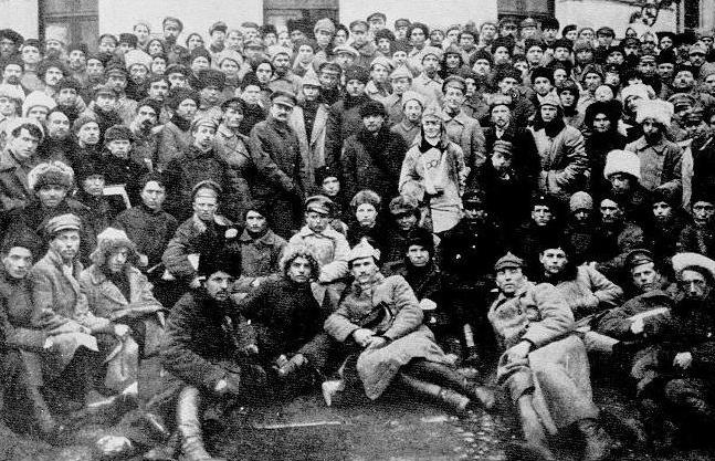 potiskivanje pobune Kronstadta