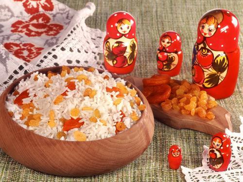 Kutya отбелязва рецептата за ориз