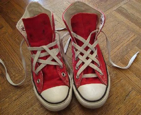 vrste vezenja čevljev