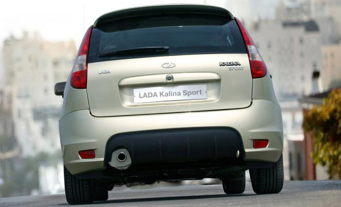 Novi Lada Kalina hatchback