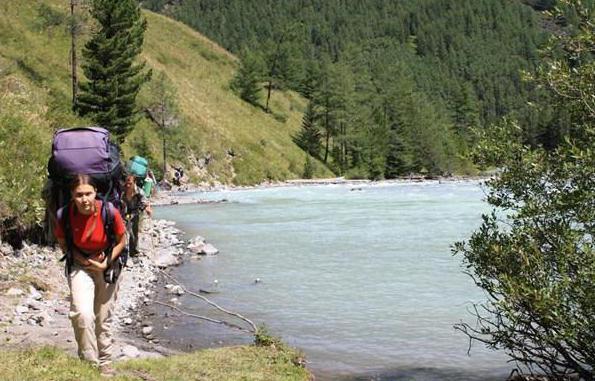 Pohod do jezera Kucherlinskoye