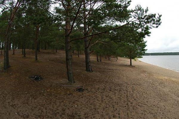 Lipovskoye jezero Kingisepp okres