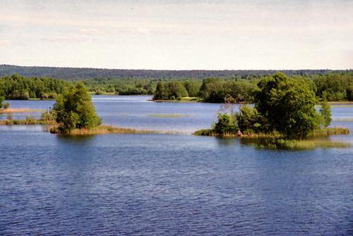 Pesca sul lago Onega
