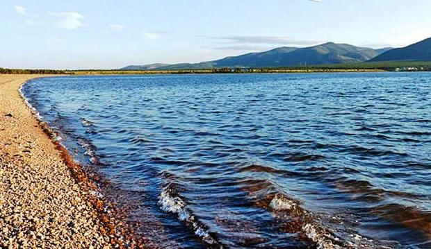 rekreační středisko jezera