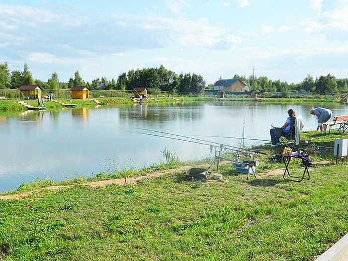 rekreační středisko jezera Ponti
