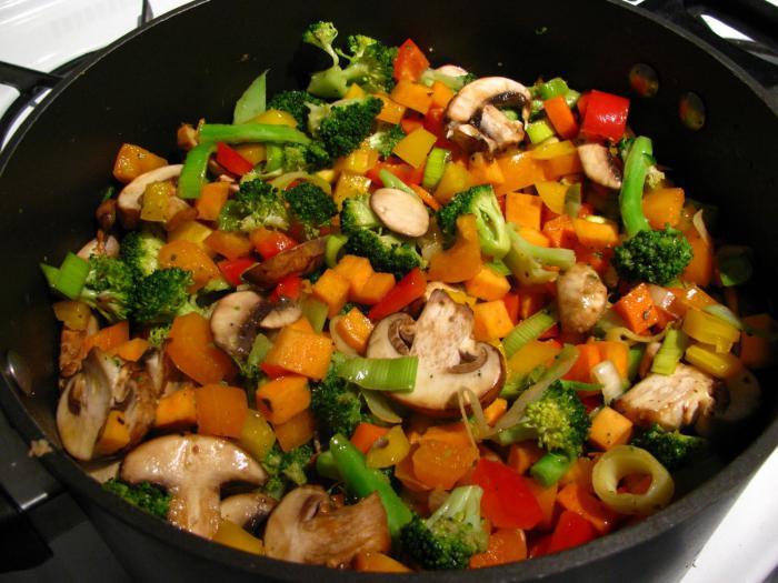 Janjetina s povrćem