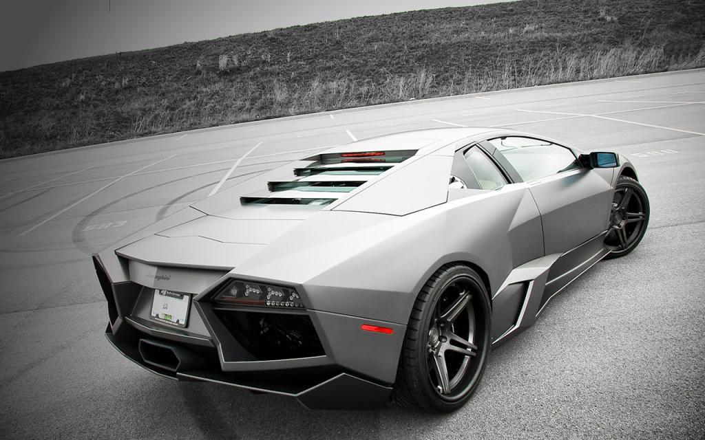 Lamborghini Reventon zpět