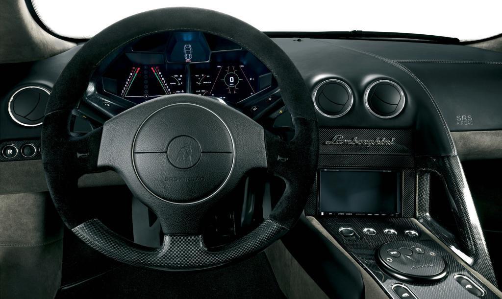 Interiér Lamborghini Reventon