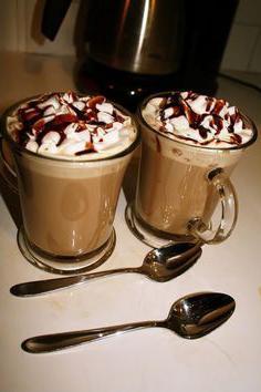ricetta del latte in una macchina per il caffè