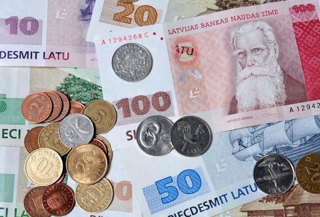 латвийска валута