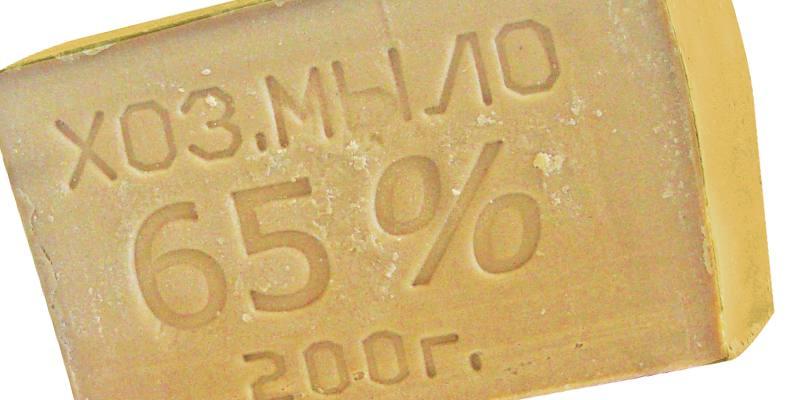 sapone da bucato 65%