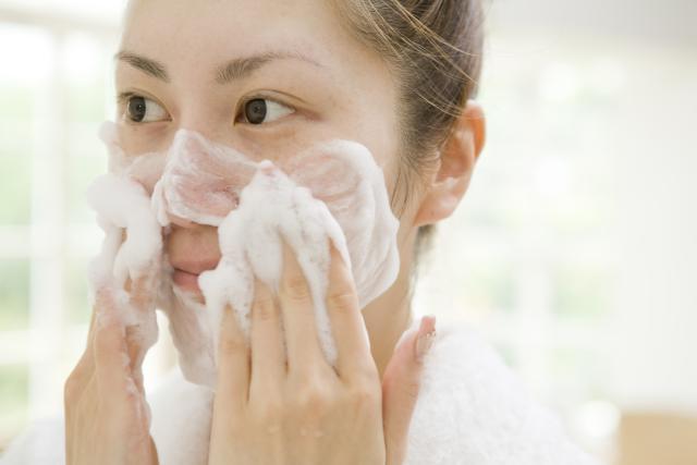 lavare con sapone