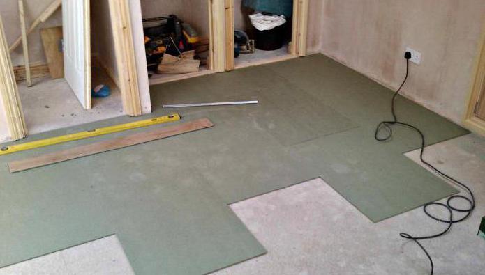 priprava betonskih tal za polaganje laminatov