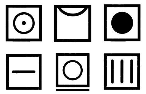 simboli sui vestiti