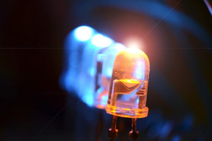 Parametri in značilnosti LED