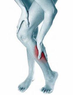 Tira i muscoli delle gambe