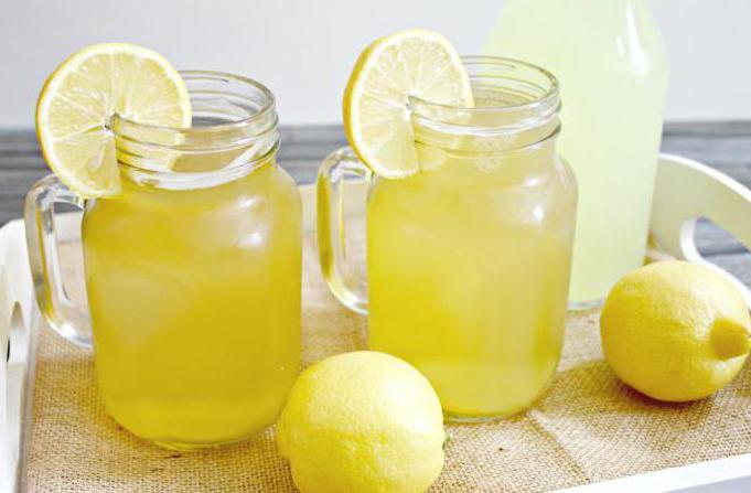 citronová limonáda doma