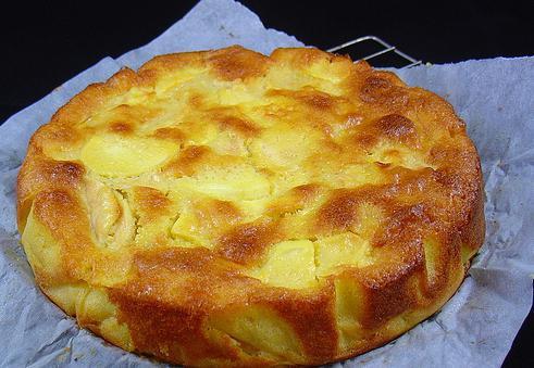 ciasto cytrynowe i jabłkowe