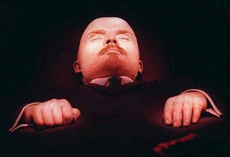 Il mausoleo di Lenin nella modalità operativa di Mosca