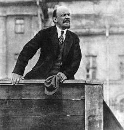 Лењин цитира револуцију