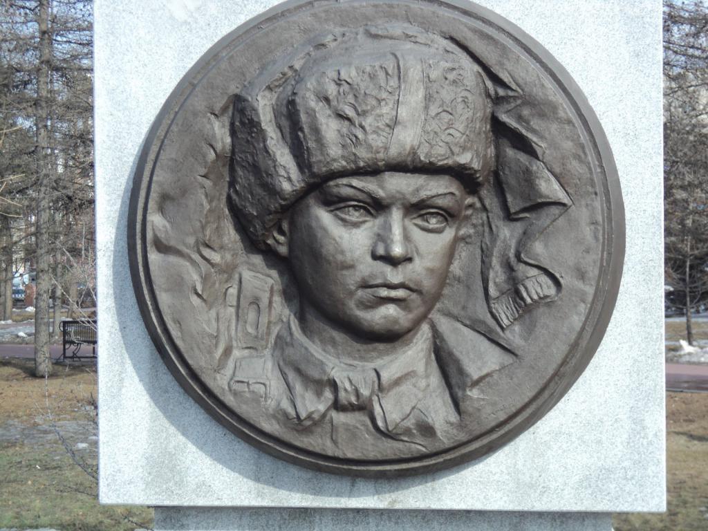 Lyonya Golikov, Aleja pionira-heroja, Čeljabinsk