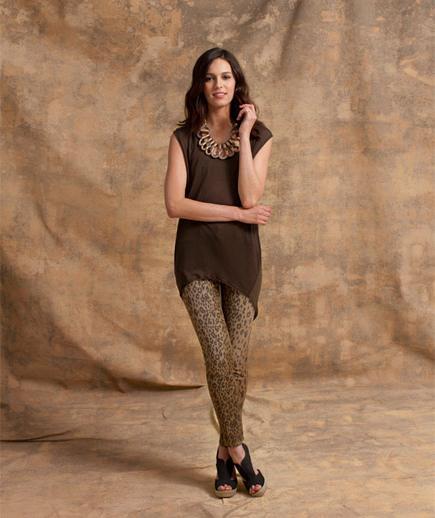 шта носити са леопардовим тајицама