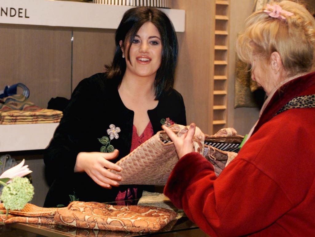 Monica Lewinsky Borse