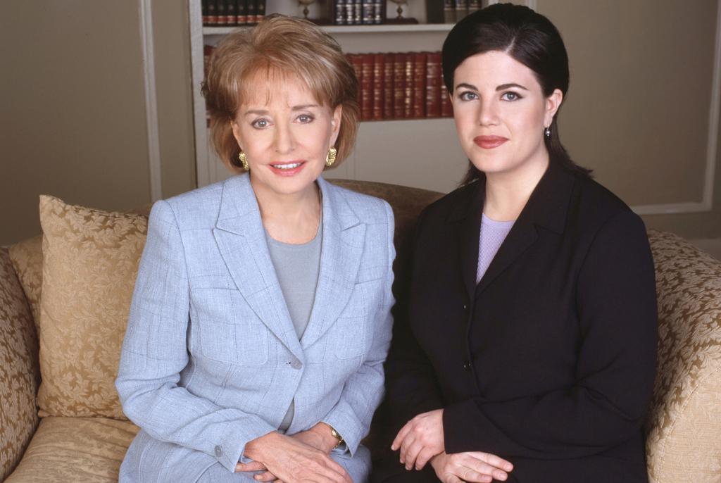Monica Lewinsky e Barbara Walters