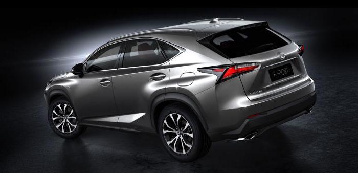 costo Lexus nx 200
