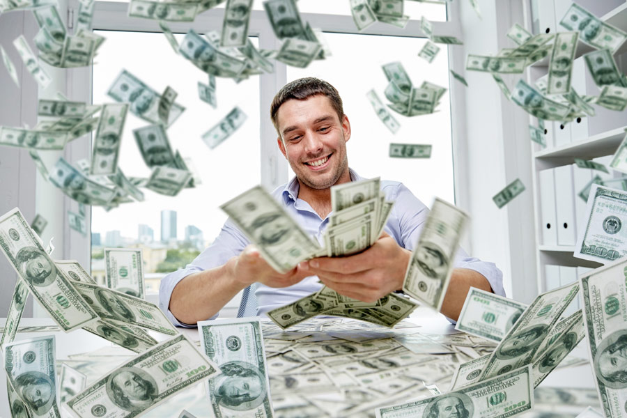 Veliko denarja