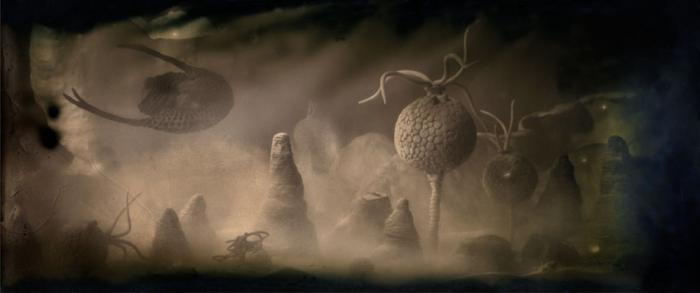 animali dell'era paleozoica
