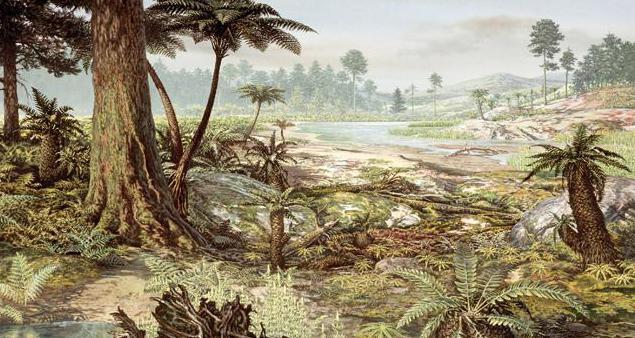 Periodo Permiano del Paleozoico