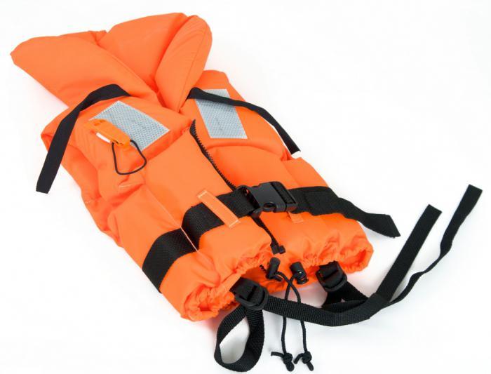 спасителни жилетки за лодки