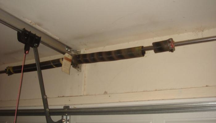 garažna vrata iznad glave