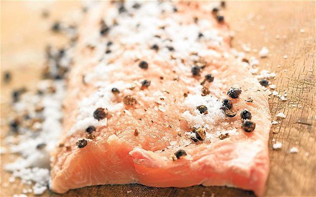 Пъстърва солена рецепта как да се готви