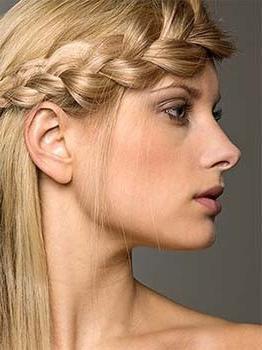 capelli brillanti perossido