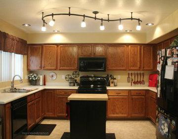 illuminazione del lavoro della cucina